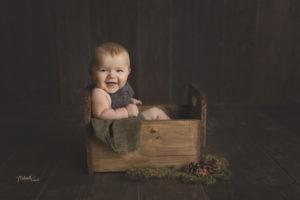 photo pro sur le thème du noël Alsacien pour bébé et enfant proche de Hésingue dans le 68300